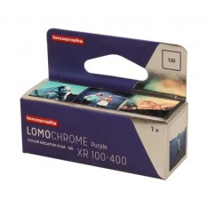 LOMOGRAPHY 120 LOMOCHROME PURPLE XR