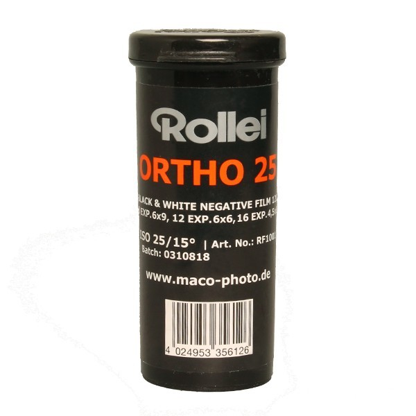 ROLLEI ORTHO 25 120
