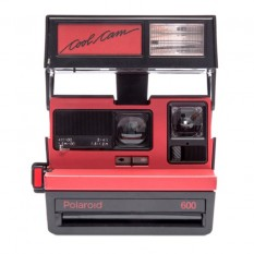 "POLAROID 600 CAMERA ""COOL CAM RED"""
