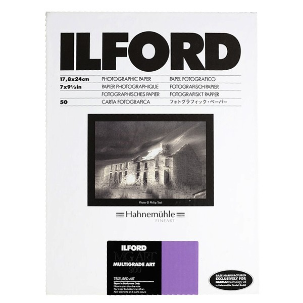 ILFORD MULTIGRADE ART 300 18X24 50 FEUILLES