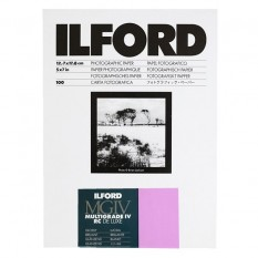 ILFORD MULTIGRADE IV RC DELUXE 13X18 BRILLANT 100 FEUILLES