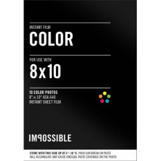 IMPOSSIBLE COLOR FILM 8X10