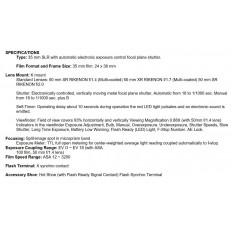 RICOH XR7 + XR RIKENON 1:2.8 50MM