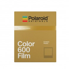 POLAROID COLOR 600 GOLD FRAME EDITION