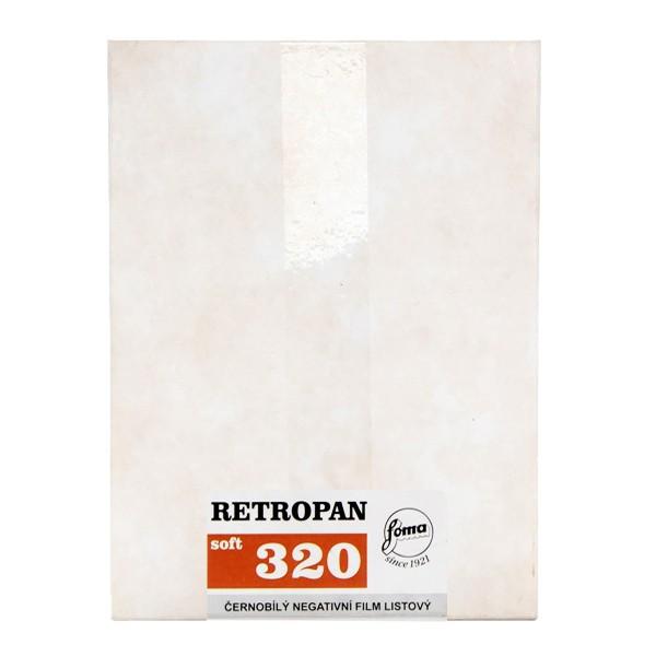 FOMA RETROPAN 320 SOFT 4X5 INCH