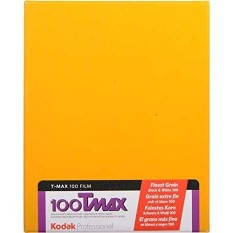 KODAK TMAX 100 4X5 INCH 10 FEUILLES