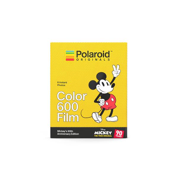 POLAROID COLOR 600 MICKEY MOUSE EDITION