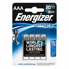 Piles ENERGIZER AAA LITHIUM Ultimate 1,5V