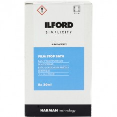 Ilford Simplicity Film Stop (30mL, 5-Pack)
