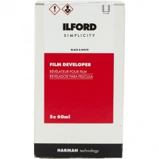 Ilford SIMPLICITY Film Developer (60mL, 5-Pack)