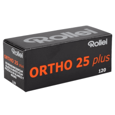 EXPIRED ROLLEI ORTHO 25 120