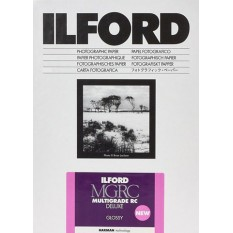 ILFORD MULTIGRADE IV RC DELUXE 8X10 INCH 25 GLOSSY SHEETS