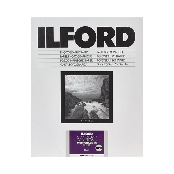 ILFORD MGRC DELUXE 13X18 PERLÉ 25 FEUILLES