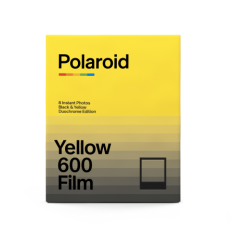 POLAROID 600 DUOCHROME BLACK & YELLOW EDITION