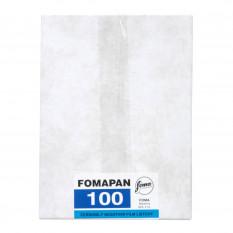 FOMAPAN 100 4X5 INCH 50 FEUILLES