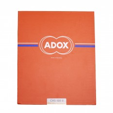 "ADOX CHS 100 II 4X5"" INCH 25 FEUILLES"