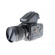 Hasselblad 203FE + PM5 Prism Viewfinder (42308) + 110mm f2 Planar T* FE + E12 Film Magazine (30248 Black)
