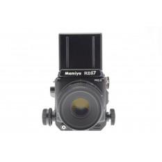 Mamiya RZ67 Professional II + 127mm f3.5 Sekor Z W + 6x7 120 Film Back Professional II