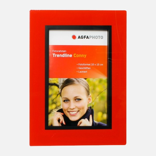 AGFA TREND LINE CONNY 10x15 ROUGE
