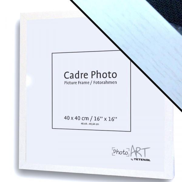 PHOTO ART 40X40 BLANC